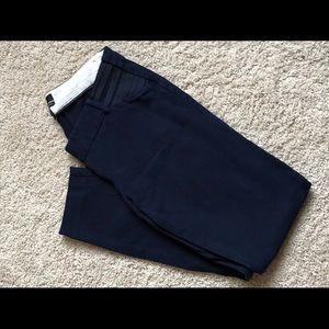JCrew Navy Blue Maternity Ankle Pants